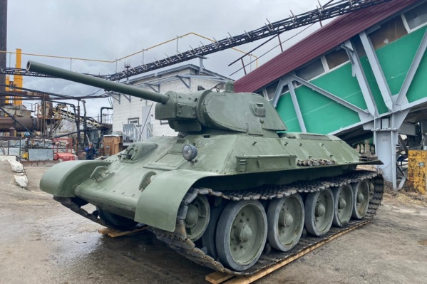 """Реконструированный боевой Т-34 установят <nobr class=""""_"""">у Вечного огня</nobr> <nobr class=""""_"""">8 мая</nobr>"""