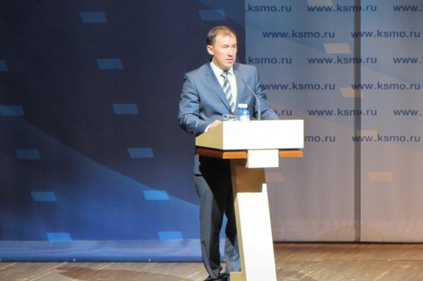 Сейчас Дмитрий Ашаев трудится председателем Совета депутатов района