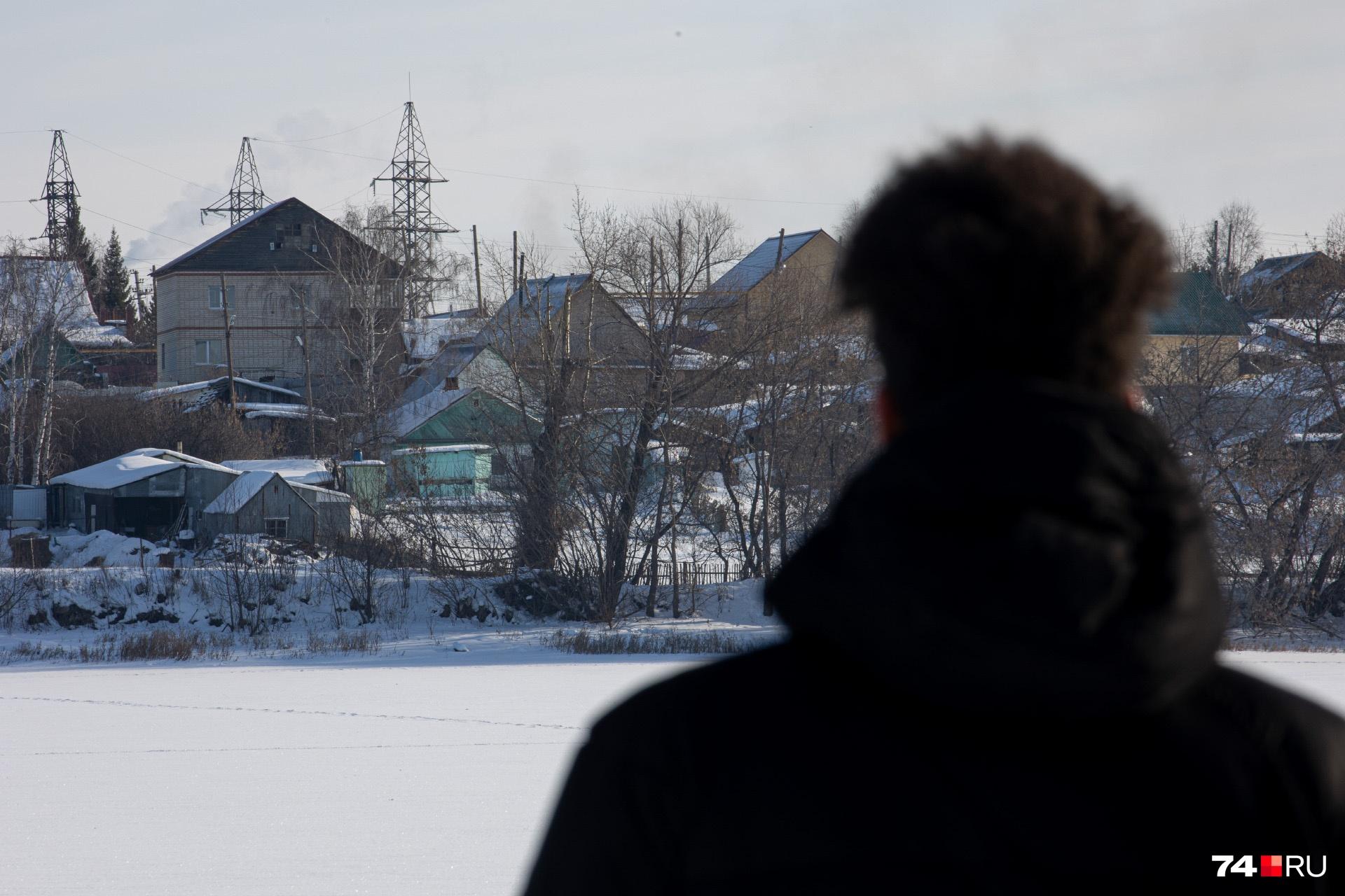 Большую часть Тимирязевского занимает частный сектор