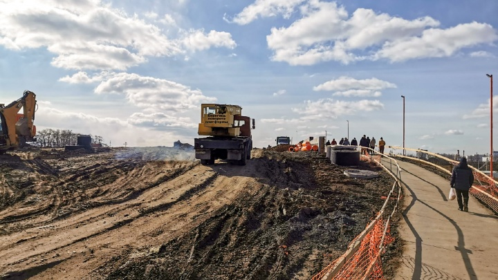 Власти Ростова рассказали, когда откроют мост на Малиновского