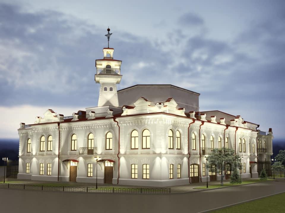 Так театр должен выглядеть после реконструкции