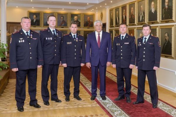Министр внутренних дел высоко оценил работу полицейских