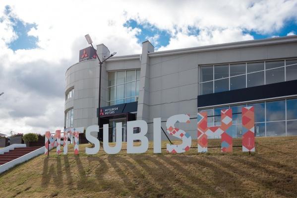 Обновленный дилерский центр Mitsubishi