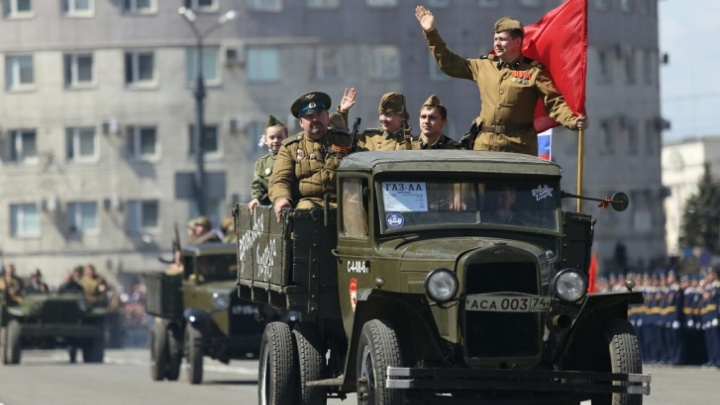 Администрация Челябинска опубликовала график перекрытия дорог в День Победы