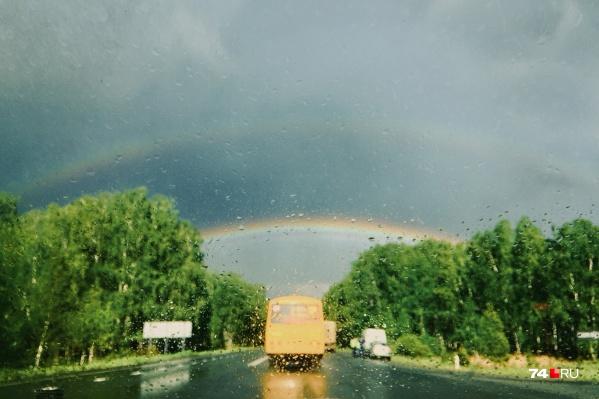 Дожди ожидаются по всей территории