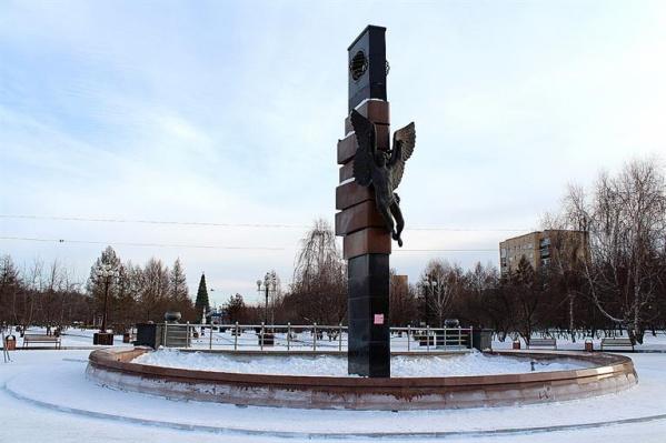 Скульптуру «Икар» установили в 2008 году