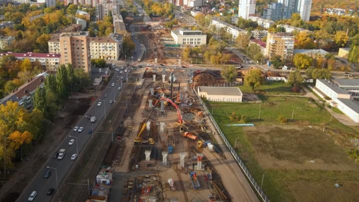 Стало известно, когда развязку на Ново-Садовой — Советской Армии продлят до улицы XXII Партсъезда