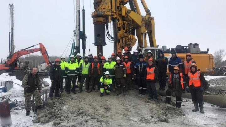 Строители нового ЛДС в Новосибирске остались без денег за установку свай и пошли в суд