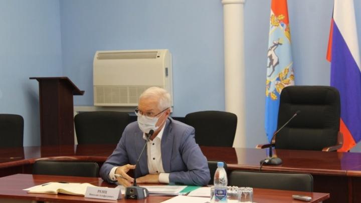Мэр Тольятти Николай Ренц заявил, что перед выборами уйдет в отпуск