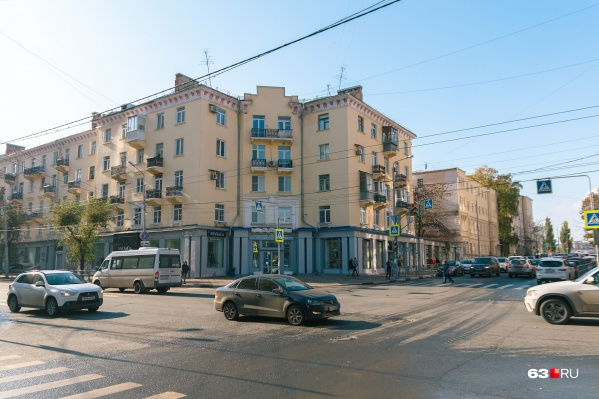 Одна из уникальных с архитектурной и исторической точек зрения улица города — Самарская