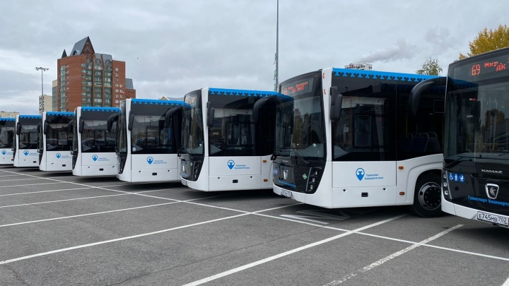 В Уфе закупили новые автобусы. Рассказываем, по каким маршрутам они будут ездить
