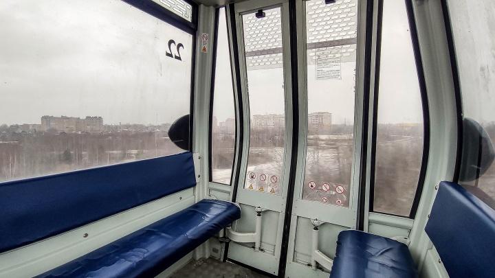 Нижегородская канатная дорога не будет работать два дня в начале апреля