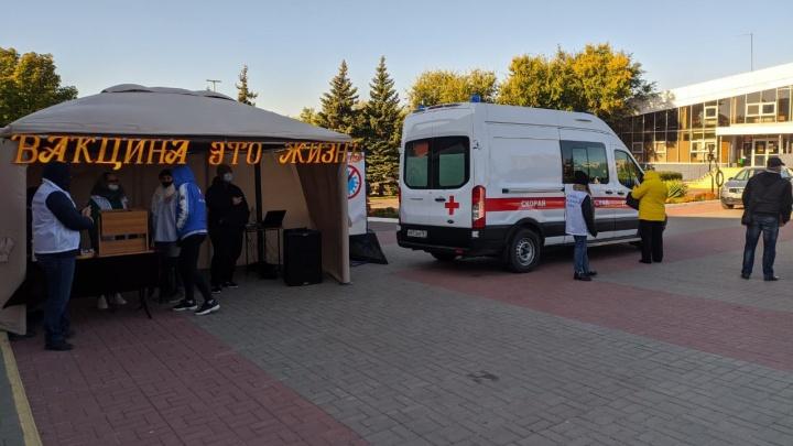 В Усть-Донецком районе разыграли два мешка картошки среди вакцинированных