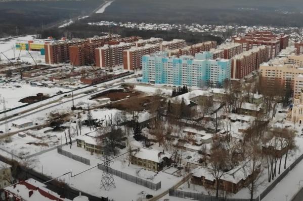 На площадке началось строительство новых домов