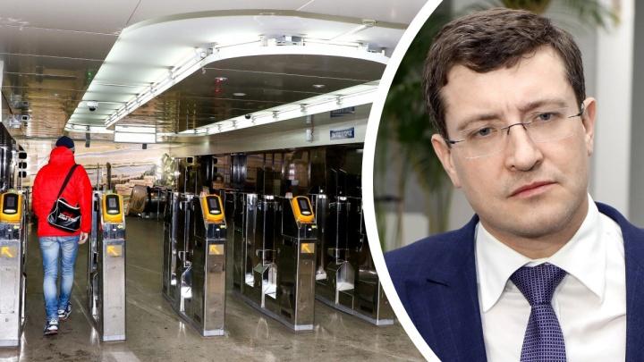 Глеб Никитин прокомментировал заявление Путина. Губернатор планирует развивать метро в исторической части города