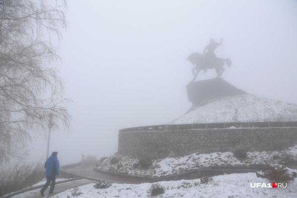 Вместе с теплом придет туман и снег