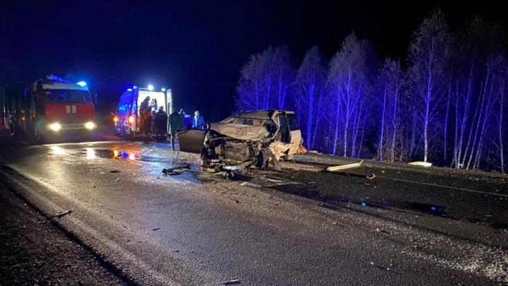 Пьяный водитель выехал на встречку под Канском и погубил двоих человек