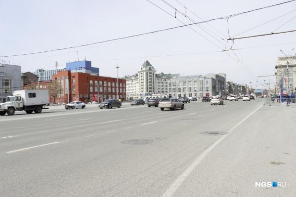 Площадь Ленина — как Ленинградский проспект в Москве