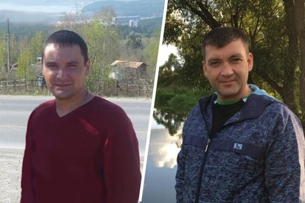 Николай Зубов из Челябинской области (слева) и Дмитрий Горшняк из ДНР, погибли в один день при обрушении шахты