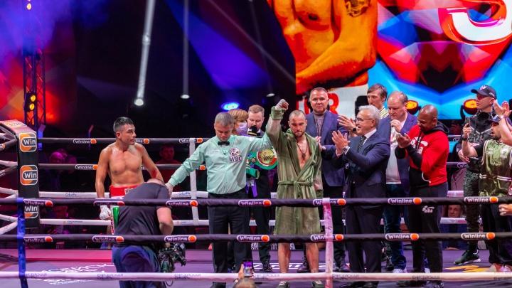 Чемпион Беспутин, сибиряк Рой Джонс и губернатор-художник: как в Красноярске прошел вечер бокса