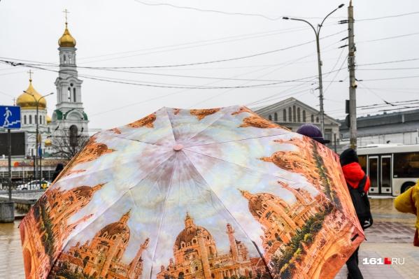 Не прячьте зонты далеко