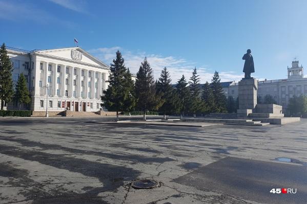 Сейчас врио главы Кургана является Елена Ситникова