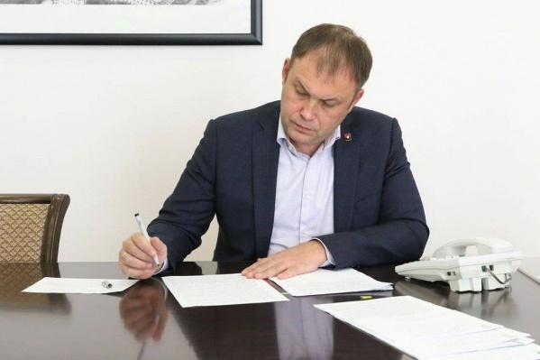 Илья Середюк стал мэром Кемерова в сентябре 2016 года