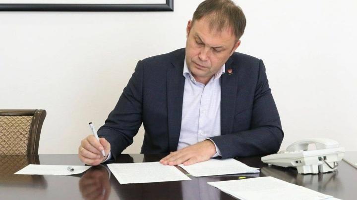 Илья Середюк сложил с себя полномочия мэра Кемерова