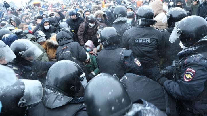 Разошлись после задержаний: в Самаре завершилась акция в поддержку Навального