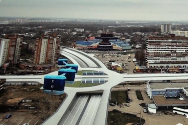 Карабулинскую развязку в Ярославле хотят построить уже много лет