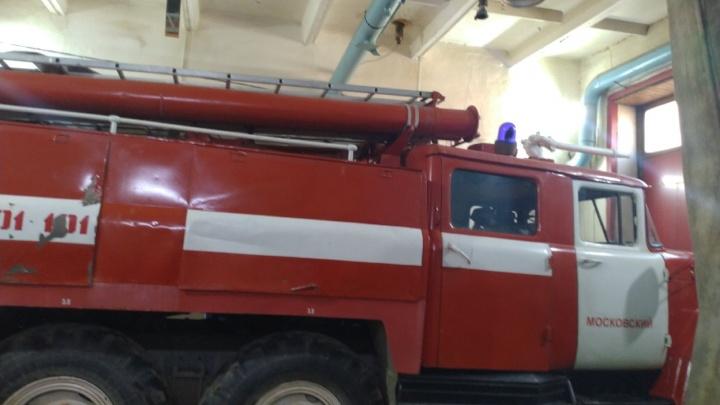 В МЧС определили судьбу единственной пожарной части в поселке Московский