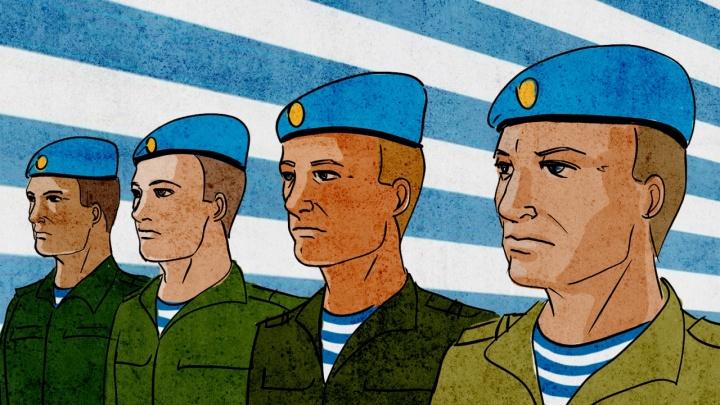 «Ты не такой, как все»: остроумный десантник — о том, кто отбирает у солдат колбасу и как служит элита