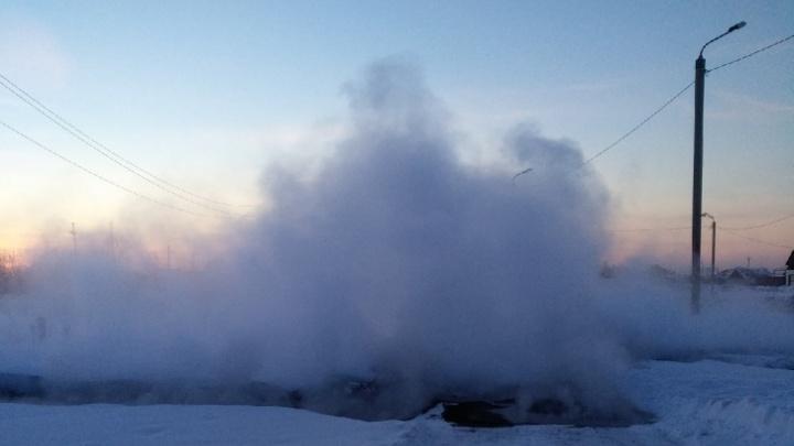 Челябинский поселок в мороз остался без отопления