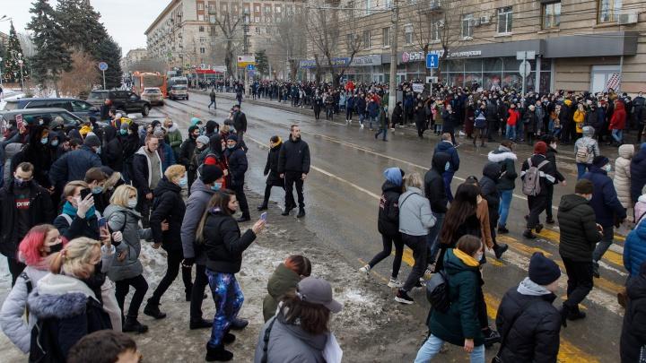 Суд оштрафовал еще одного участника незаконного шествия в Волгограде