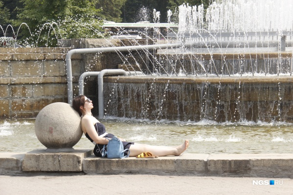 Хорошие новости для теплолюбивых новосибирцев: в ближайшее время в область придет июльская жара