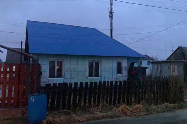Дом, в котором погибли дети