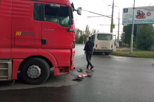 Авария произошла в Тракторозаводском районе