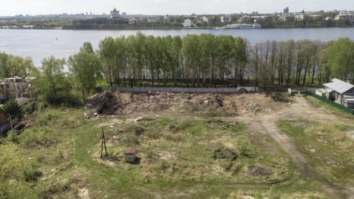 Было нельзя — стало можно: в Ярославле элитные земли у Волги размежевали под строительство домов