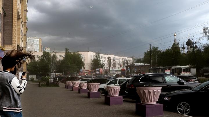 Нижегородскую область накроют град, ливни и шквалистый ветер через несколько часов