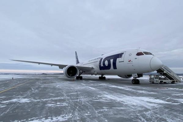 Dreamliner — один из самых современных дальнемагистральных самолетов в мире