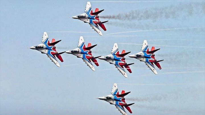 Пилоты ВВС на истребителях впервые покажут авиационное шоу в Кузбассе
