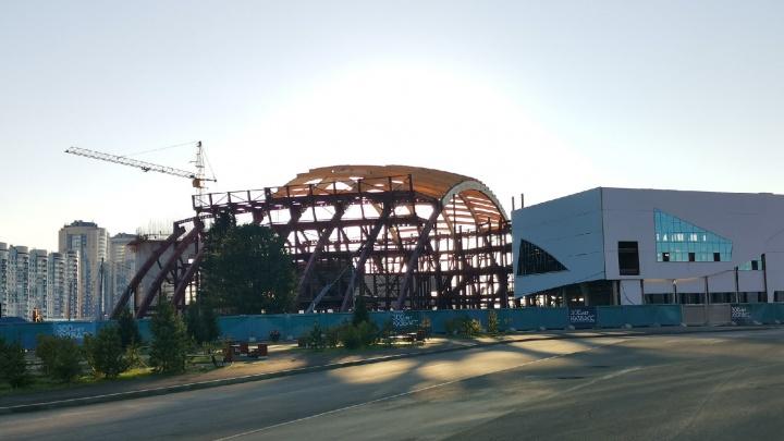 Власти рассказали о строительстве «Кузбасс-Арены» и теннисного центра в Кемерове