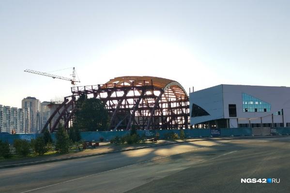«Кузбасс-Арена» должна быть сдана в 2022 году