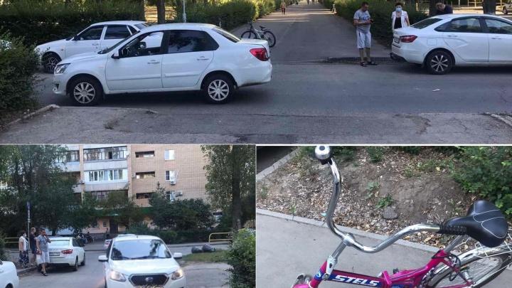 В Автозаводском районе «Датсун» сбил 10-летнюю велосипедистку