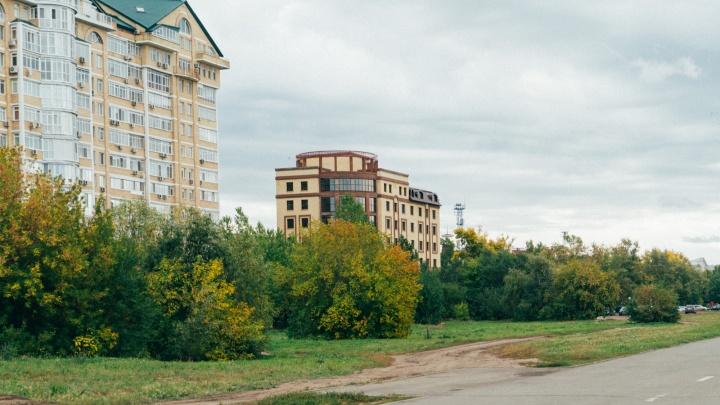 Мэрия Омска разрешила застройщику отеля Cosmos снести деревья на набережной Тухачевского