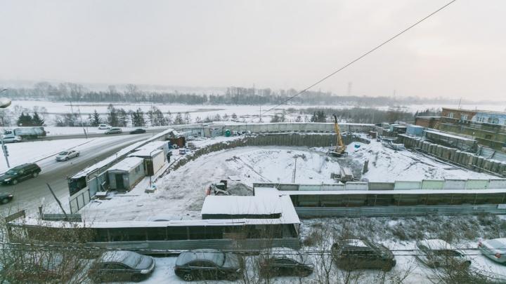 Крупный недострой на Дубровинского отобрали у владельцев по иску администрации