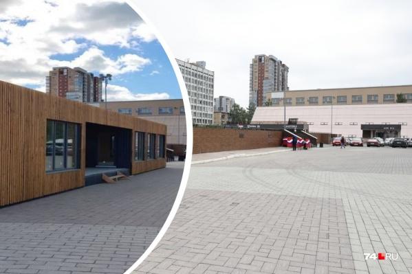 Павильон возле ТК «Курчатов» демонтировали на днях