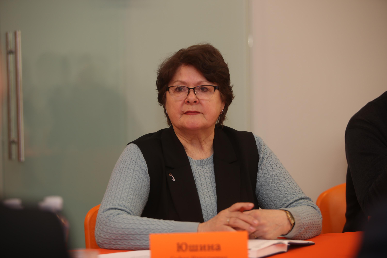 София Юшина — президент ассоциации «Садоводство «Бабино», председатель СНТ «Электроаппарат»