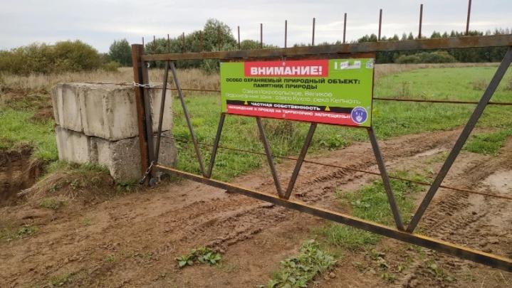Ярославец выкупил 120 гектаров земель и закрыл путь миграции диких животных