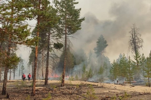 За сутки в Якутии потушили 16 природных пожаров
